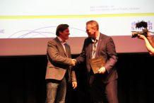 Peter Vuust and mayor of Struer Mads Jakobsen
