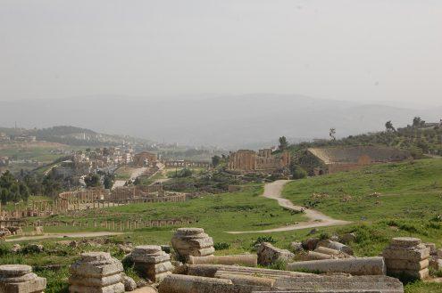 Rubina Raja has recently worked with the ancient city of Gerasa at the present Jerash in Jordan. (Photo: Rubina Raja)
