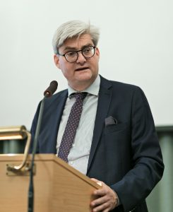 Søren Pind, DNRF Annual Meeting 2017 (photo: DNRF)