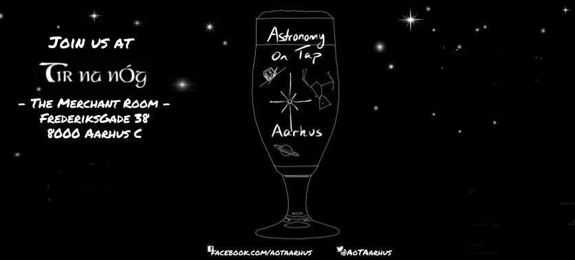 The image shows the logo of the event: an illustration of a beer glass onto the background of a clear night sky.