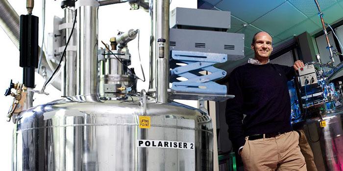 Professor Jan Ardenkjær-Larsen, head of center at HYPERMAG at the Technical University of Denmark.