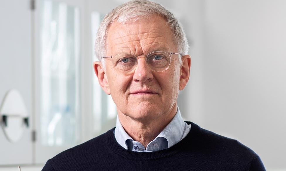 Professor Karl Anker Jørgensen.