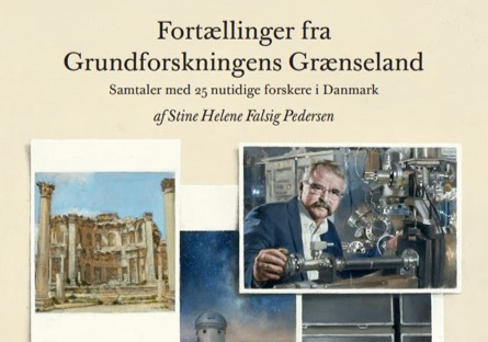 The picture shows a section of the book's front page with artistic reproductions of photographs included in the book.
