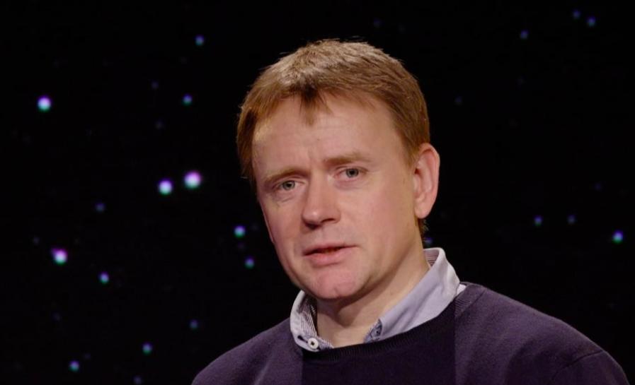 Professor Johan Fynbo.