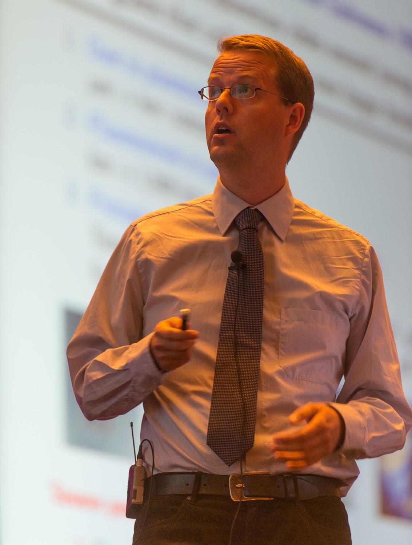 Professor Anders Johansen.